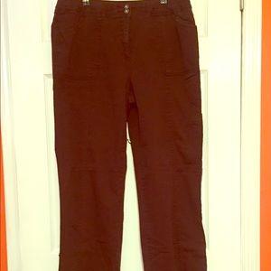 Karen Scott brown pants